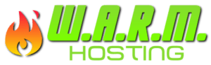WARM Hosting logo